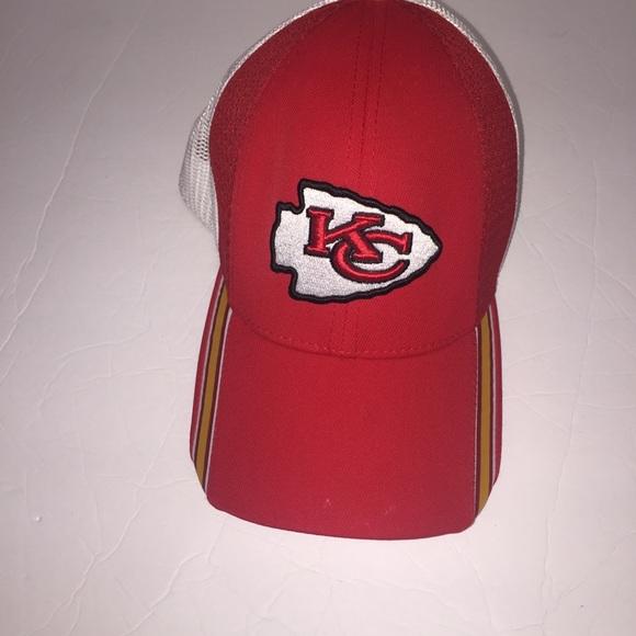 d103a5890 Reebok Nfl Kansas City chiefs fitted cap hat